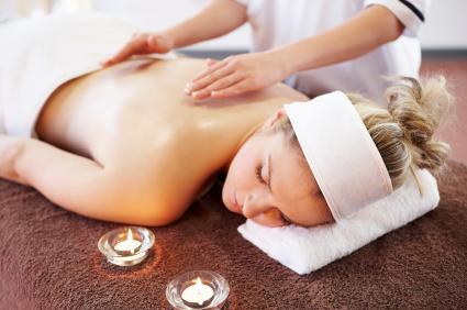 Woman Getting reiki treatment Lymm